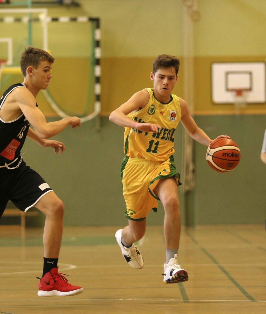 Basketball Nachwuchs JBBL SC Rist Wedel